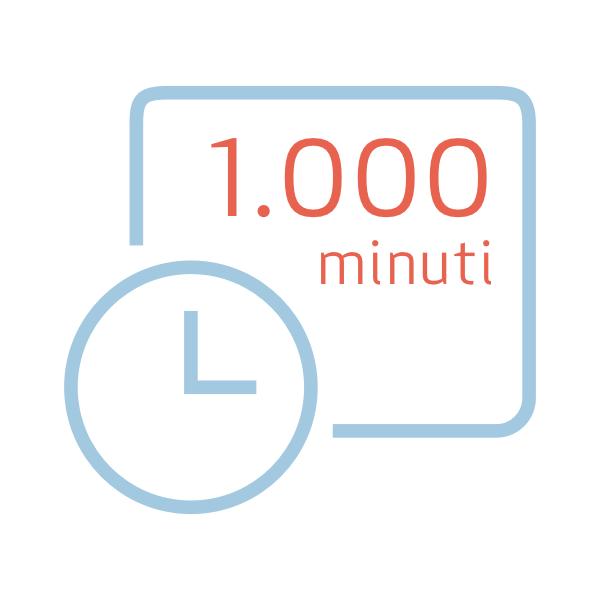 Pacchetto da 1.000 minuti extra per Nonny