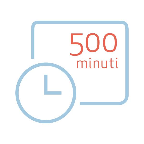 Pacchetto da 500 minuti extra per Nonny